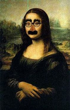 """Groucho glasses on the Mona Lisa: Three tools for being better informed http://wld.mn/2bgdYe4  It's all too easy to be taken in by fake information. """"We're bombarded with tons of information all day; it's a nightmare to critically evaluate all of it."""""""