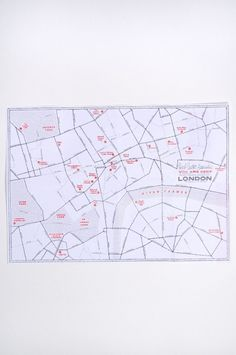 You Are Here - London Map