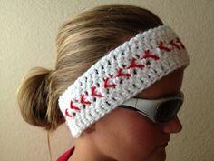 Baseball Headband- Baseball Headwrap- Softball Headband