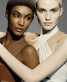 MAC All Ages, All Races, All Sexes Collection – Winter 2009 Collection – New Photos and Information – Beauty Trends and Latest Makeup Collections Mac Collection, Makeup Collection, Beauty Bush, Ugly Heart, White Leotard, All Races, Colour Story, Power Of Makeup, Bronze