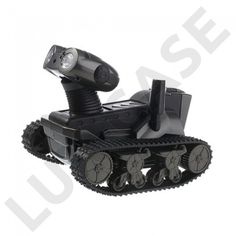 Spy Tank (Sort) Fjernstyrt Stridsvogn m/ Kamera til smarttelefoner - GRATIS FRAKT!