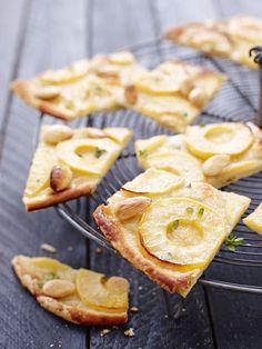 Apfel-Flammkuchen - smarter - Zeit: 30 Min. | eatsmarter.de