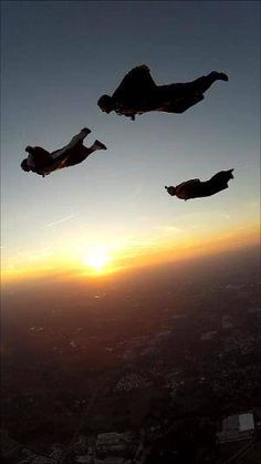 Fly a wingsuit. Maybe, I am now fascinated with these 'flying machines'...