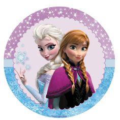 Frozen Anna And Elsa Personalised Cake Topper Edible Wafer/icing sheet  sc 1 st  Pinterest & Tag181.jpg (827×827) | Bottle Caps | Pinterest