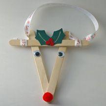 A Arte de Ensinar e Aprender: Enfeites de natal feitos com palitos de picolé