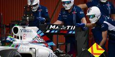 Williams Martini 2016 F1 pre-season test #Massa