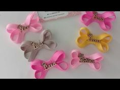 Mini Boutique, Lana, Hair Bows, Things To Do, Youtube, Satin Bows, Make Bows, Braided Headbands, Short Lace Front Wigs
