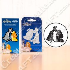 Disney Lady and the Tramp Limited Edition Die with Paper Pad No Colour