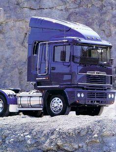 WESTERN STAR COMMANDER of Australia - ERF EC11 cab Big Rig Trucks, Semi Trucks, Old Trucks, Western Star Trucks, Ashok Leyland, Old Lorries, Road Train, Cab Over, London Transport