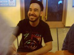 MIKE SHINODA the purest smile I have ever seen...