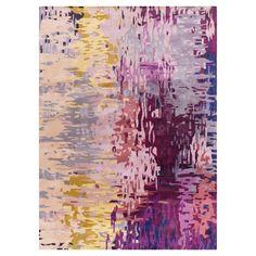 Misk Area Rug - Dark Purple, Lime - (8' x 11') - Surya