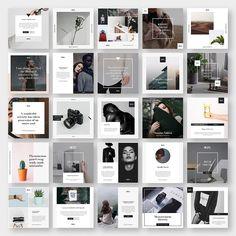 Stylish Social Media Pack by GoaShape on @creativemarket