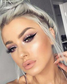 Fashion Make-up Herbst - Beste Trend Mode Full Face Makeup, Day Makeup, Makeup Goals, Skin Makeup, Makeup Inspo, Makeup Inspiration, Makeup Tips, Beauty Makeup, Contouring Makeup