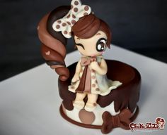 Lady ChokoLate by -- ChokoLate - www.facebook.com/ChokoLateFancyCakes