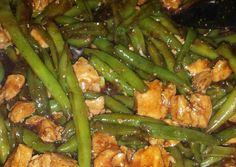 Chicken and green bean stir fry Recipe -  Let's try to make Chicken and green bean stir fry in our home!