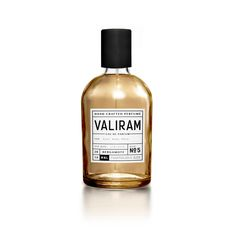 Valiram Perfume via @thedieline. Love the bold black and white label.