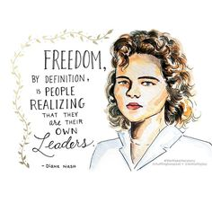 Women's History Month Day 13- Diane Nash #herstory