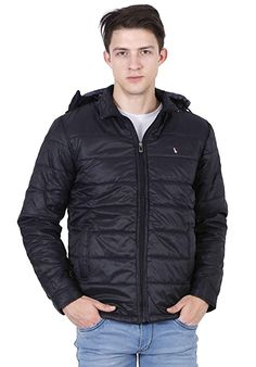 Buy Forest Club Men's Solid Quilted Jacket | Light Weight | Casual Wear | Quilted Jackets | Winter Jackets for Men | Hood Removable | at Amazon.in