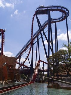 Climb 200 feet to the edge of a 90-degree drop. It inches its way to the edge and then it  stops.  Cruel. Busch Gardens Tampa