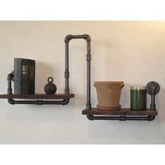 Eclectic Wall Shelves