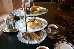 High Tea at the Empress Hotel in Victoria, BC