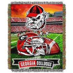 Use this Exclusive coupon code: PINFIVE to receive an additional 5% off the University of Georgia HF Tapestry Throw at SportsFansPlus.com