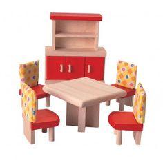 muebles de comedor para casa de muñecas