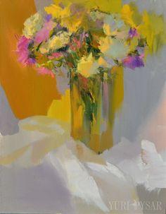 Chute de fleurs FLoral Still Life Painting - fleurs colorées de la peinture à l'huile originales - toile jaune Art - sticker moutarde par Yuri Pysar par Pysar sur Etsy https://www.etsy.com/fr/listing/206238095/chute-de-fleurs-floral-still-life