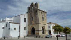 Faro Cathedral in the Old City, Faro, Portugal