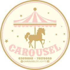 Carousel Party, Carousel Birthday, Horse Party Decorations, Circus Baby, Carnival Birthday Parties, Festa Party, Screenprinting, Churros, Amusement Park