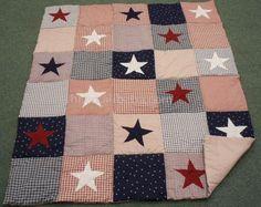 patchwork quilt star