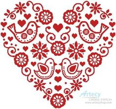 Thrilling Designing Your Own Cross Stitch Embroidery Patterns Ideas. Exhilarating Designing Your Own Cross Stitch Embroidery Patterns Ideas. Hungarian Embroidery, Folk Embroidery, Learn Embroidery, Cross Stitch Embroidery, Embroidery Patterns, Machine Embroidery, Cross Stitch Heart, Cross Stitch Borders, Counted Cross Stitch Patterns