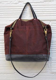 Handmade purses by Ali Golden of San Francisco. Need this  aligolden.com