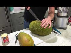 Cutting a Jack Fruit https://youtube.com/watch?v=Bklmzpqe5aM