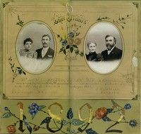 Project - Great Grandparents Wedding Cert