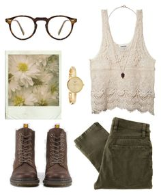 jacqui. by cauchemar-exquis on Polyvore featuring polyvore fashion style Nudie Jeans Co. Infinite BY SOPHIE Oliver Peoples clothing