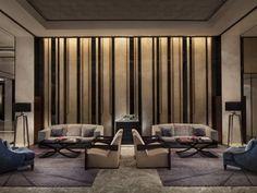 hotel vip waiting area - Google Search Lobby Interior, Interior Walls, Luxury Interior, Interior Architecture, Apartment Interior, Lobby Lounge, Hotel Lounge, Lounge Decor, Design Hotel