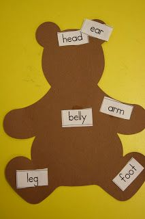 Mrs. Lee's Kindergarten: Teddy Bears