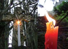 a luz das velas... #espiritualidade #citações