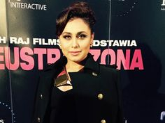Namaste Poland: Rani Takes Mardaani to Warsaw http://movies.ndtv.com/photos/namaste-poland-rani-takes-mardaani-to-warsaw-18299
