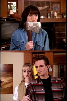 Beverly Hills, 90210 damn you Kelly! Dylan  And Brenda FOREVER!! *sigh* still not over their breakup