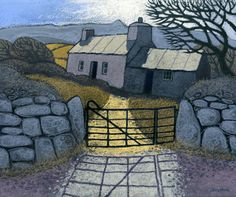 PEN MYNYDD by Chris Neale, Welsh, landscape artist