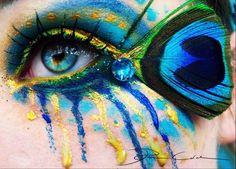 Art on a eye