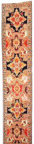 Karabagh runner  Caucasus,  late 19th century  size approximately 3ft. 5in. x x19ft.