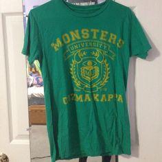"Monsters University ""Oozma Kappa"" Tee Oozma Kappa tshirt from Monsters University. Worn once. Hot Topic Tops Tees - Short Sleeve"
