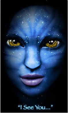 Na'vis indígena do planeta Pandora ..