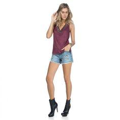 Visite minha loja Virtual!! http://www.imaginariodamulher.com.br #obrigadadnada   Blusa Decote Amplo Bordados  COMPRE AGORA!  http://imaginariodamulher.com.br/look/?go=2c9b5Pr #comprinhas