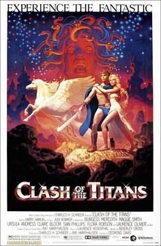 Clash of the Titans: aside from the Star Wars trilogy, this was my absolute favorite when I was a kid