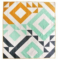 Triangle Jitters Quilt Pattern (Download) - Suzy Quilts