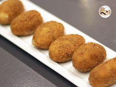 Ptitchef vous propose une spécialité espagnole pour l'apéritif : des Croquetas au jambon serrano ! Ces dernières ont été réalisées par les mains de chef de Juan, propriétaire et cuisinier du restaurant Le Bistrot du Picador situé à Bordeaux. Suivez le...